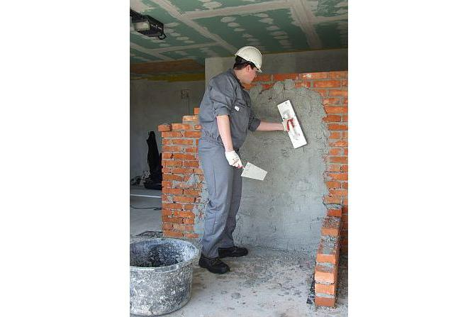 than plastering the walls of foam blocks