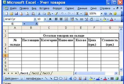 Как правильно работать в excel