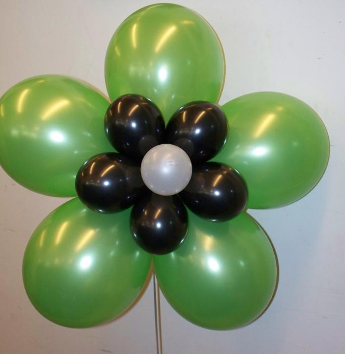 Из круглых воздушных шаров своими руками