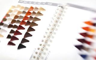 как выбирают цвет волос