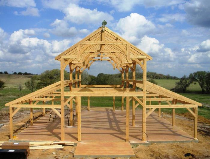 Из чего построить дачный домик своими руками