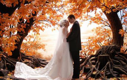 Самый удачный месяц для свадьбы