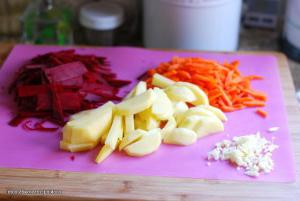 Classic cold beetroot recipe