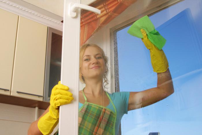 Как мыть пластиковое окно без разводов в домашних условиях 691