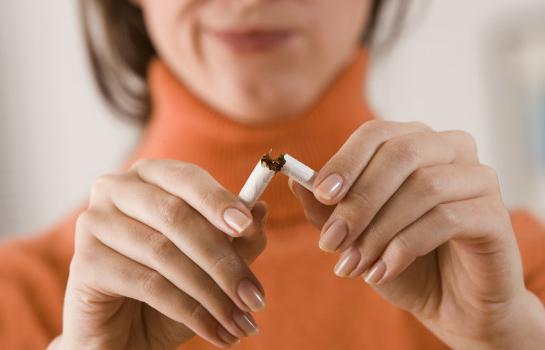 Как выводится из легких бросившего курить