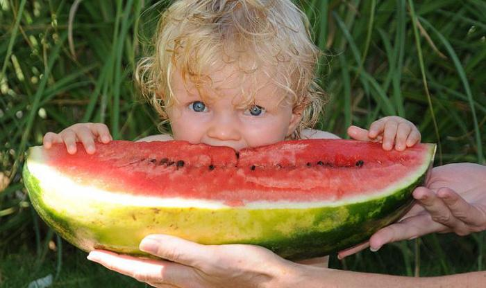 can children watermelon