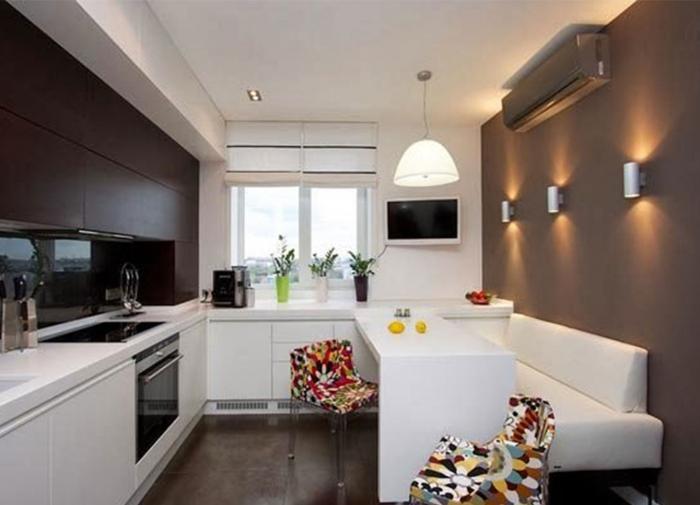 Кухни с диваном маленькие дизайн