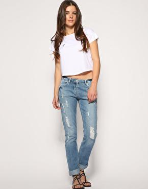 Дырка на джинсах как сделать чтобы не расходилась