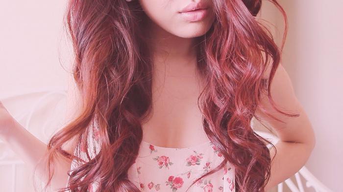 Как покрасить волосы без краски в рыжий