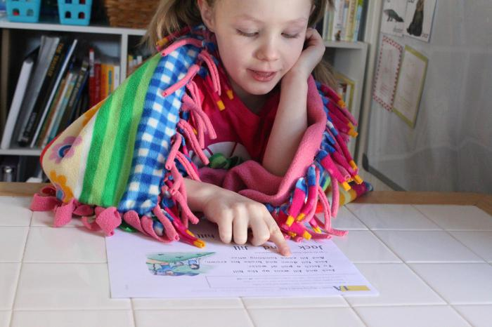 We read to children 5 6 years