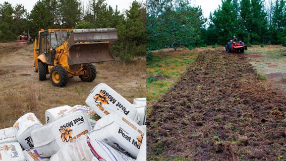 soil fertilizer with peat
