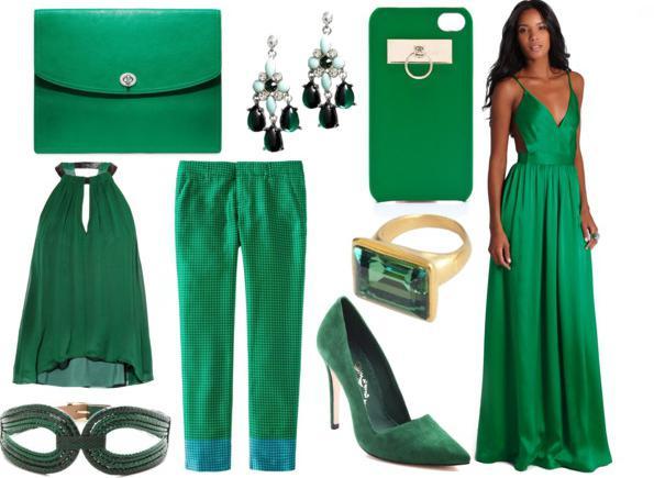 С каким цветом сочетается зеленый цвет в спальне
