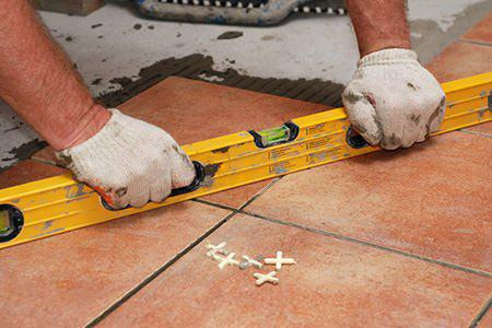 how to lay tiles in the bathroom