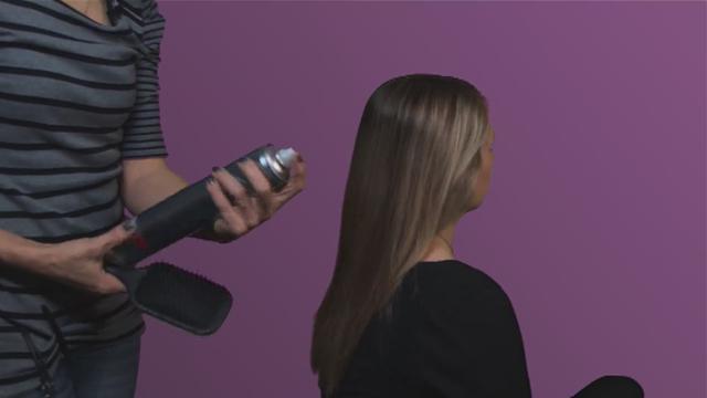 как выпрямить волосы без выпрямителя и фена