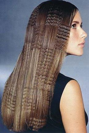 Как выпрямить волосы без выпрямителя в домашних 4
