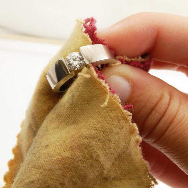 К очистить золотое кольцо в домашних условиях