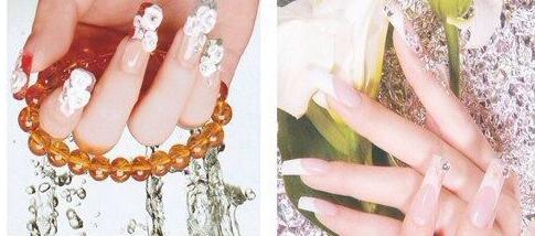 Ногти нарощенные фото