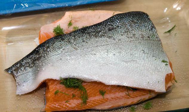 рыбу сонник солят
