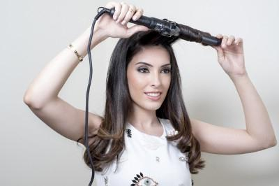 Curling irons for large curls