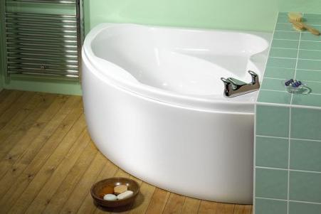 ванна угловая