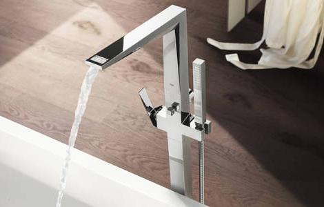 выбор смесителя для ванны