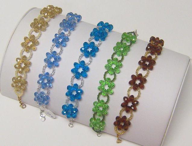 Красивые браслеты из бисера своими руками видео