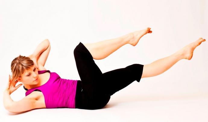 упражнения для похудения талии и живота мщения