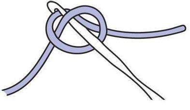 как вязать крючки на леску