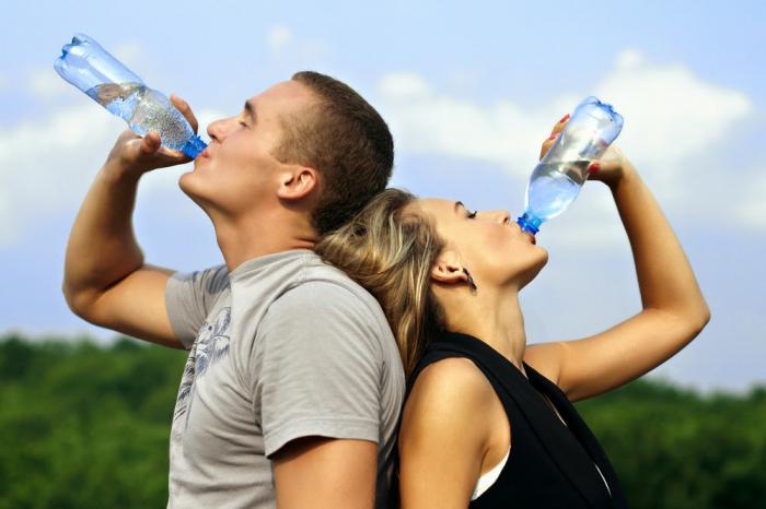 советы как правильно пить воду