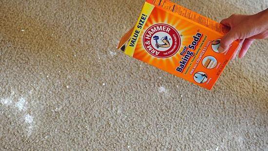 Чем в домашних условиях отмыть палас