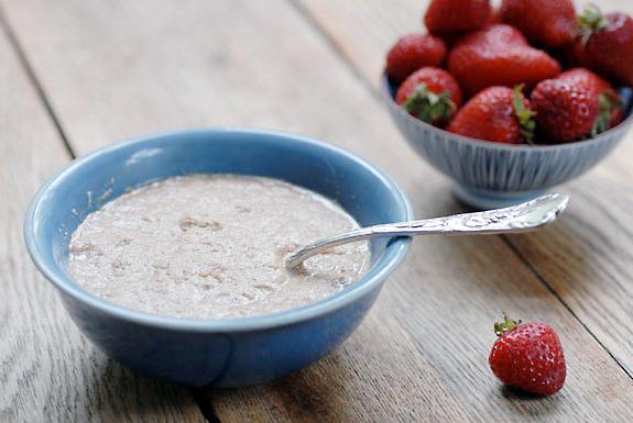 flaxseed porridge