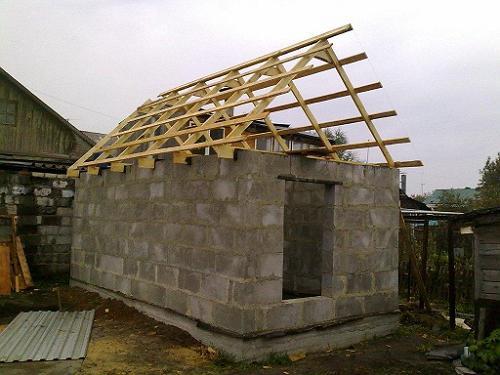 Из каких блоков лучше строить баню: газобетон, газосиликат ...