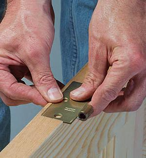 how to install double interior doors