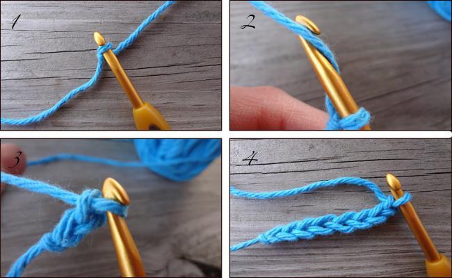 Пошаговое вязание крючком для начинающих