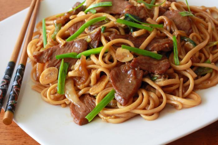 Как готовить китайскую лапшу