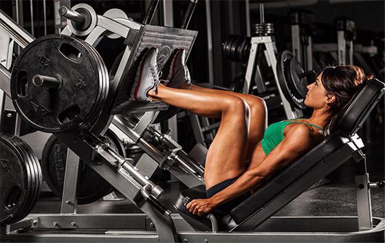 тренажерный зал упражнения для девушек