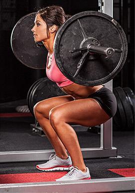 тренажерный зал для женщин упражнения