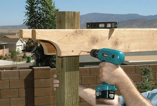 build a pergola with your own hands