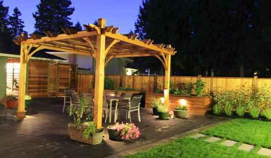 pergola for grapes do it yourself