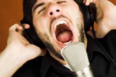 Как сделать громкий и грубый голос