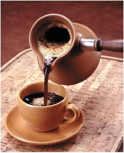 How to make coffee in the Turk