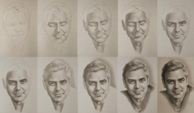 как рисовать портреты карандашом поэтапно