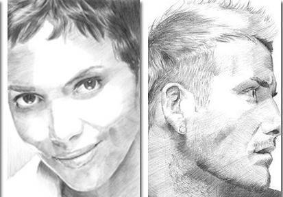 рисуем портрет для начинающих