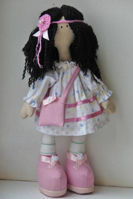 Кукла на метле своими руками фото 168