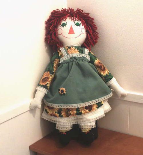 Как сшить куклу своими руками? Куклы самодельные: выкройки, фото