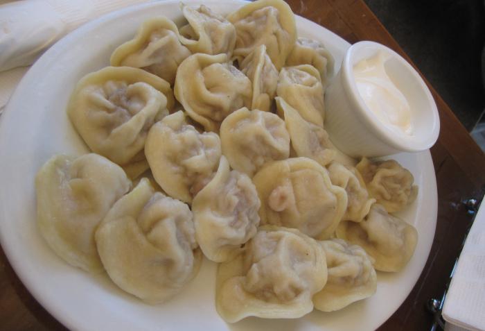 рецепт китайские пельмени тесто