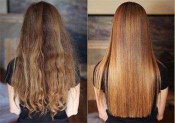 The effect of lamination hair