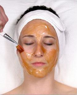 маска на основе меда