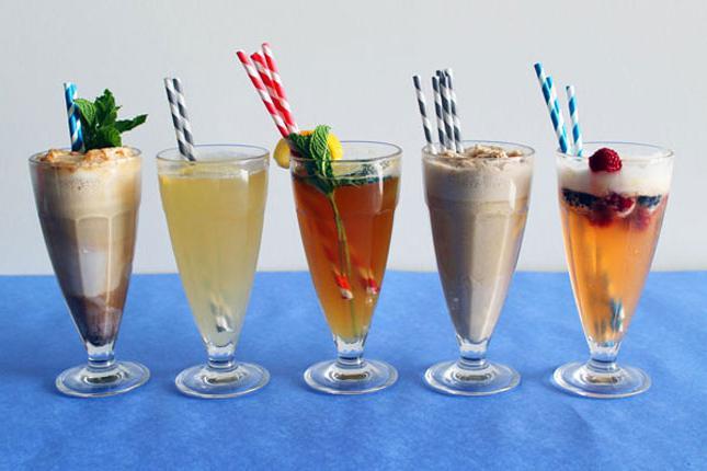 Рецепт коктейля с мороженым с соком