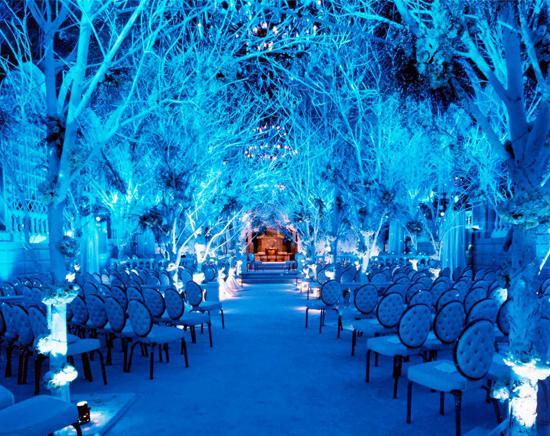 Зимняя свадьба идеи